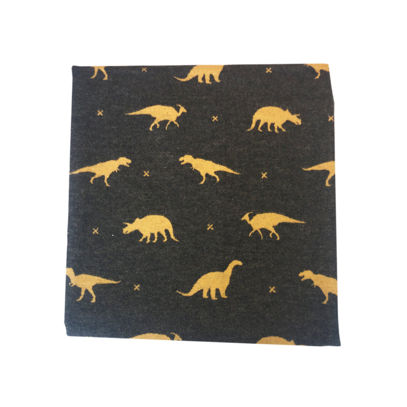 David Fussenegger Juwel Junior Dinosaurs All Around - Charcoal Blankets | kids at home