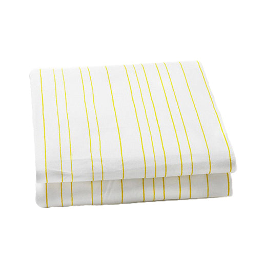 Auggie | Auggie Fitted Sheet - Painted Stripe Fern (Twin)