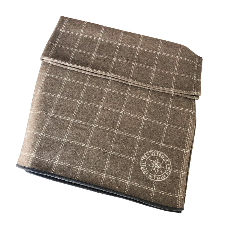 David Fussenegger Luca Throw Blanket Checkered Stamp Blankets | kids at home