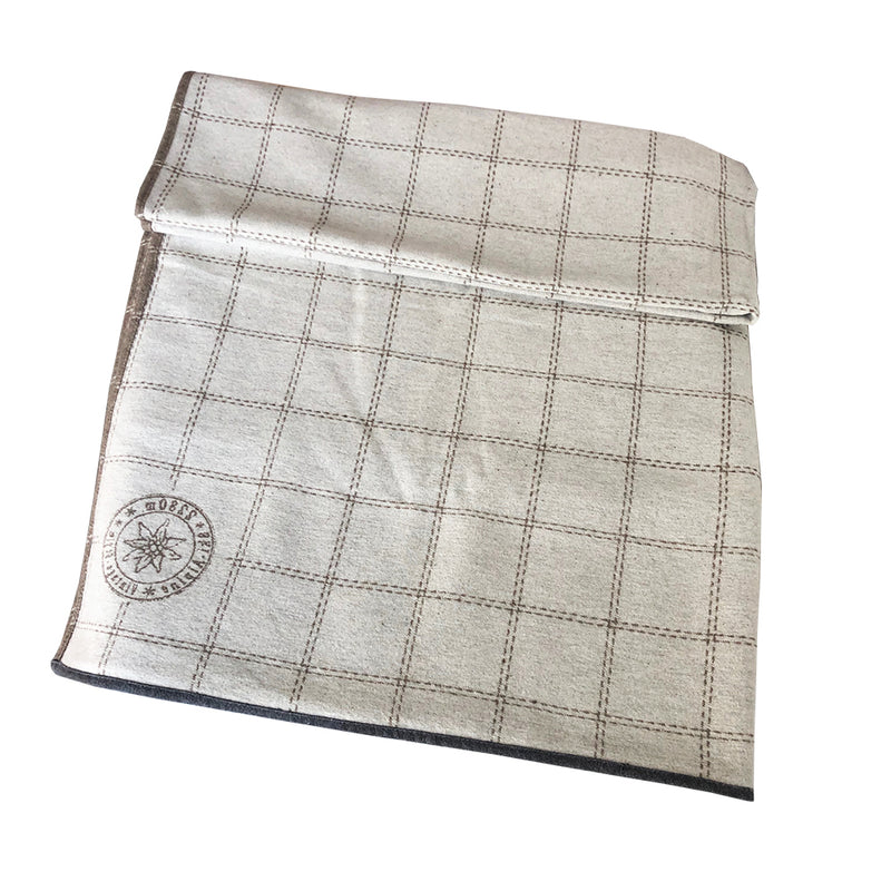 Luca Throw Blanket Checkered Stamp