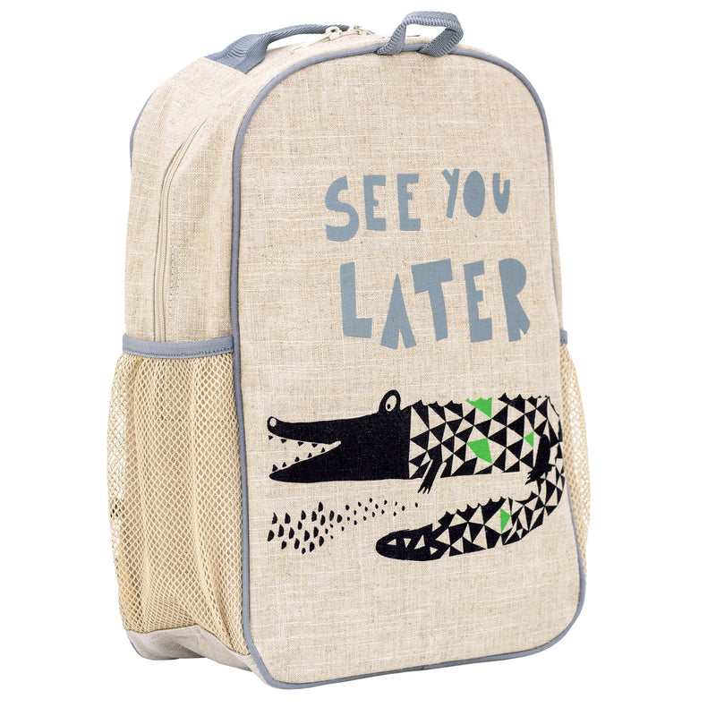 Wee Gallery Alligator Grade School Backpack