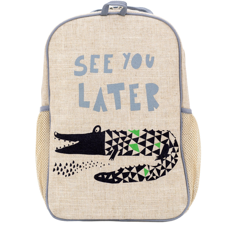 SoYoung Wee Gallery Alligator Grade School Backpack | kids at home