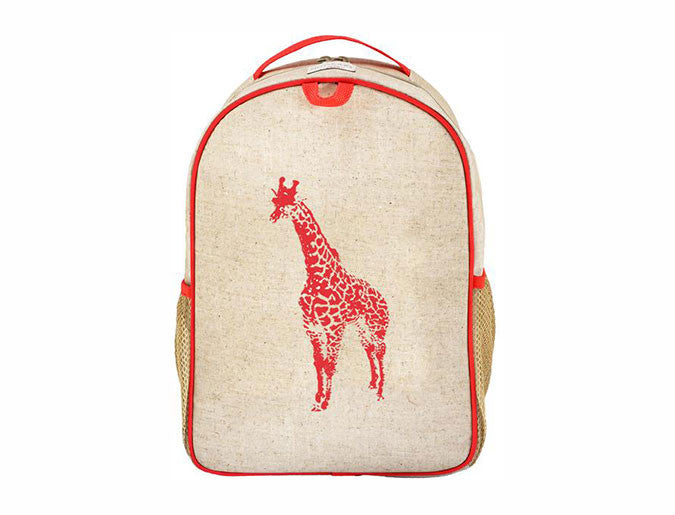 SoYoung Giraffe Grade School Backpack | kids at home