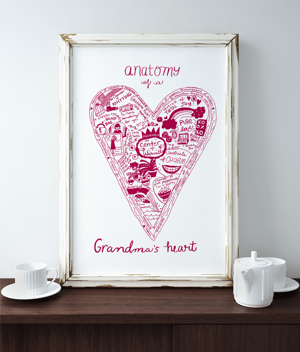 Anatomy of a Grandmothers's Heart