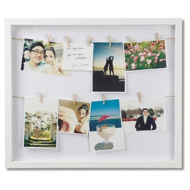 Umbra Clothesline Picture Frame wall hanging | kids at home
