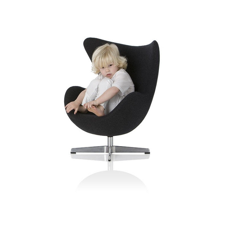 Mini Egg Chair - Black