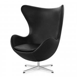 Plata Import Mini Egg Chair - Black Chairs | kids at home
