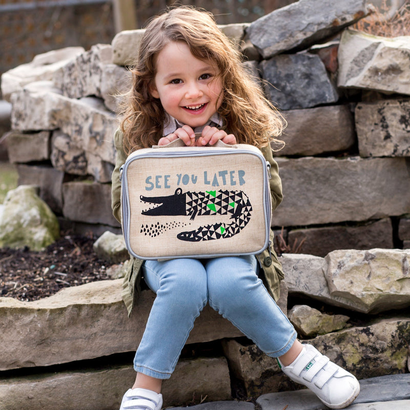 Wee Gallery Aligator Lunch Box