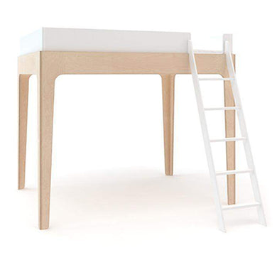 Oeuf Perch Full Size Loft Bed - Birch | kids at home