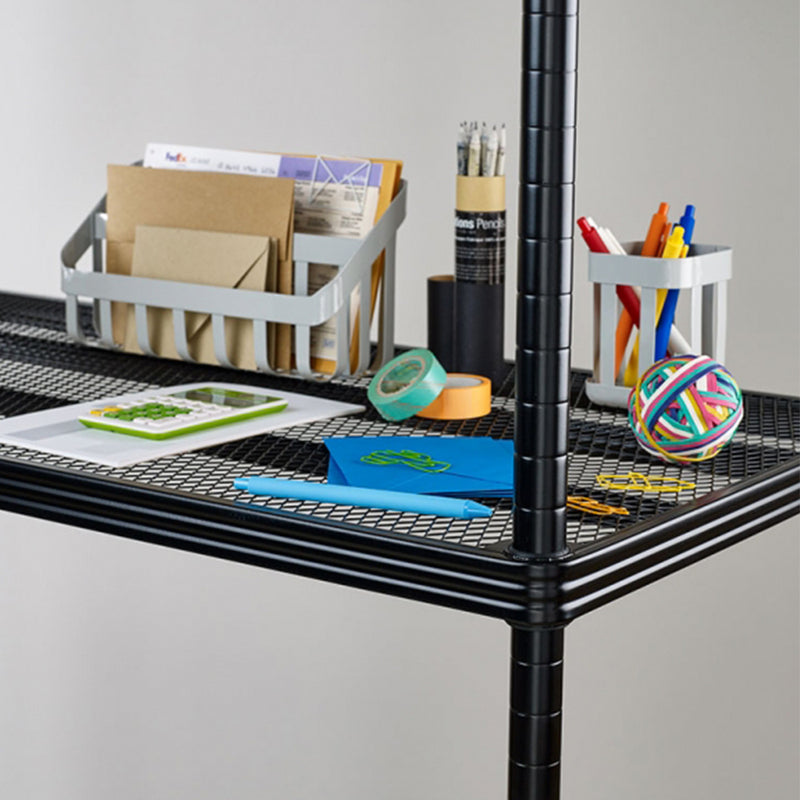 Design Ideas | MeshWorks Shelving Unit - Black