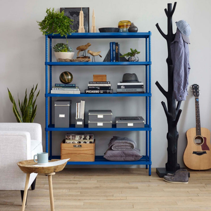 Design Ideas | MeshWorks Shelving Unit - Petrol Blue