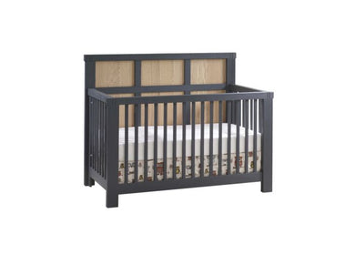 Natart Juvenile Rustico Moderno 5-in-1 Convertible Crib Cribs | kids at home