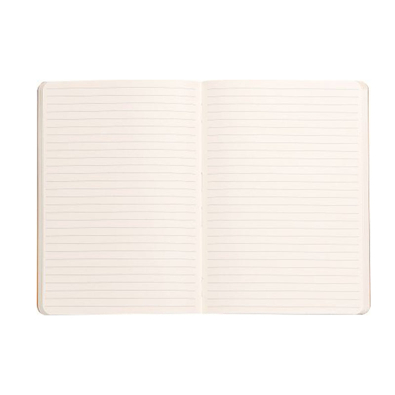 Softcover Notebook A6 - Anise Green