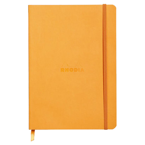 RHODIA Softcover Notebook A5 - Orange | kids at home