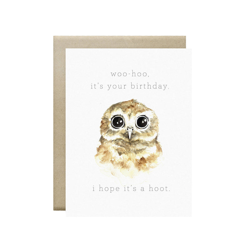 Wild Canary Studio - Greeting Cards Owl | kids at home
