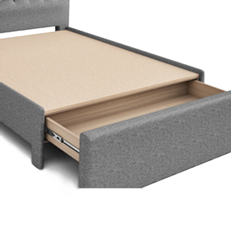 Julien Beaudoin | Upholstered Storage Bed