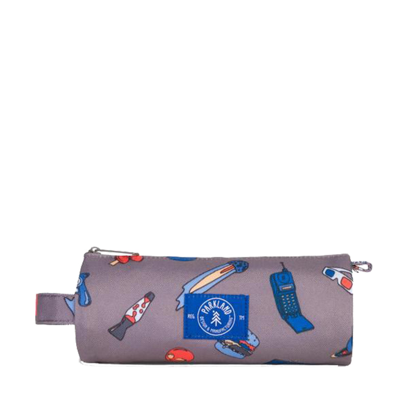 Parkland Highfield Small - Patches Retro Pencil Case | kids at home