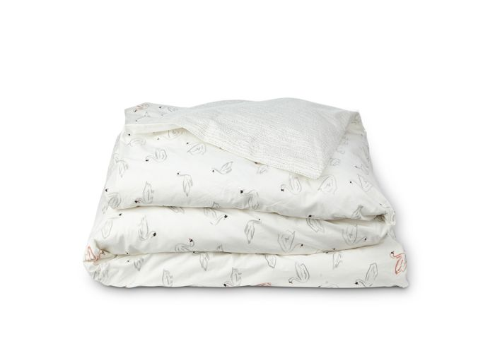 Swan Lake Reversible Duvet Cover - Full