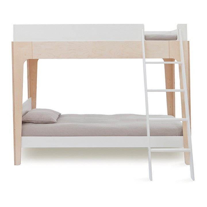 Oeuf Perch Bunk Bed Birch and White | kids at home