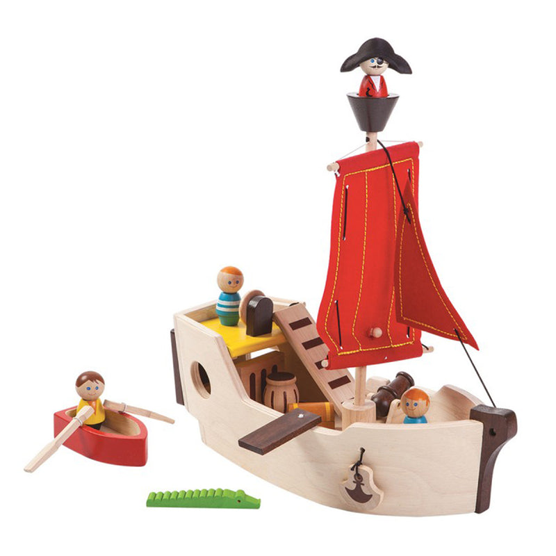 PlanToys Pirate Ship Toys | kids at home