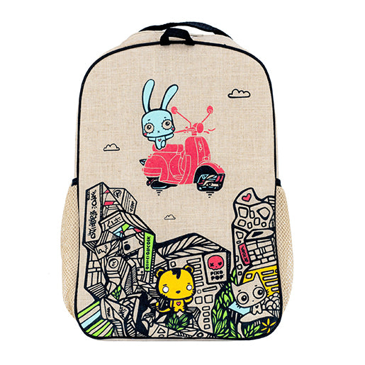SoYoung | Pixopop Stitch Time Traveller Grade School Backpack