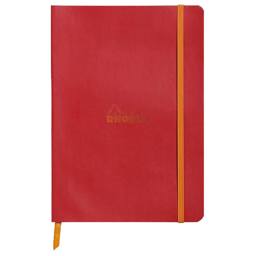 RHODIA Softcover Notebook A5 - Poppy | kids at home