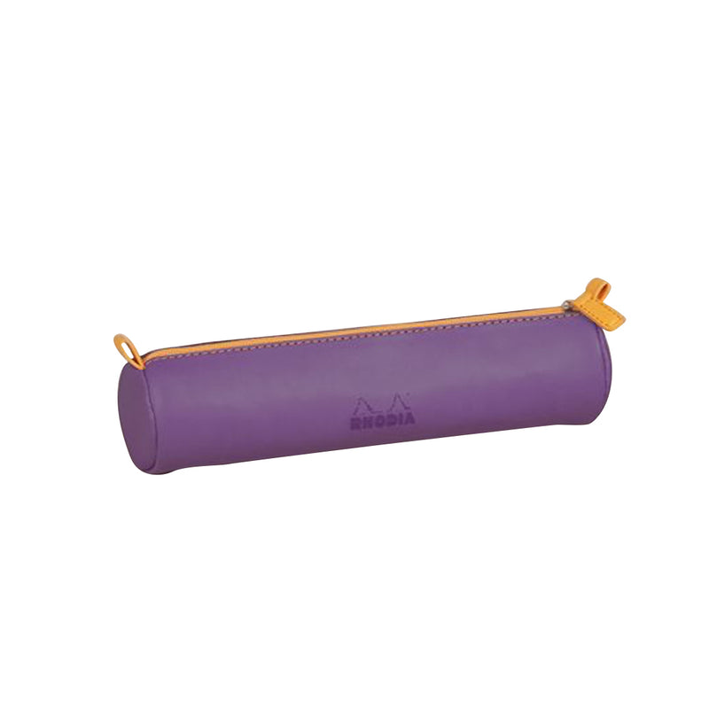 RHODIA Round Pencil Case - Purple | kids at home