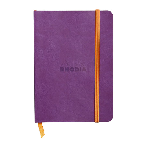 RHODIA Softcover Notebook A6 - Purple | kids at home