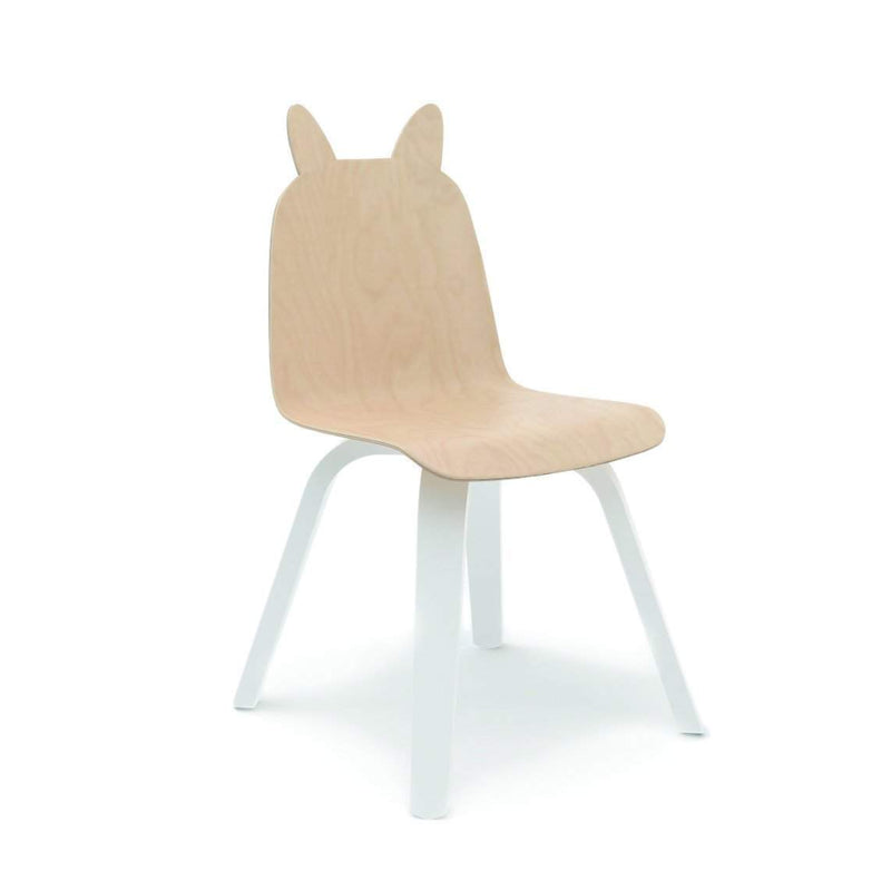 Oeuf Rabbit Play Chair - Birch (Set of 2) Chairs | kids at home