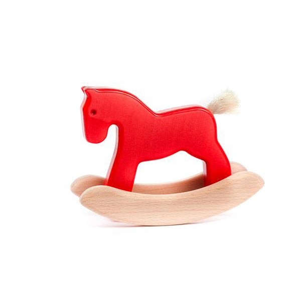 Bajo Small Rocking Horse - Red