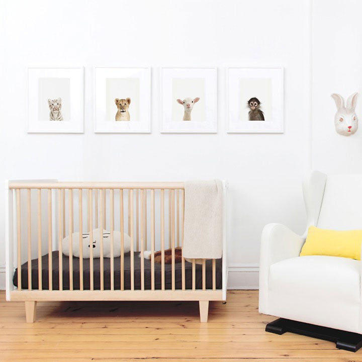 Rhea Crib - Walnut