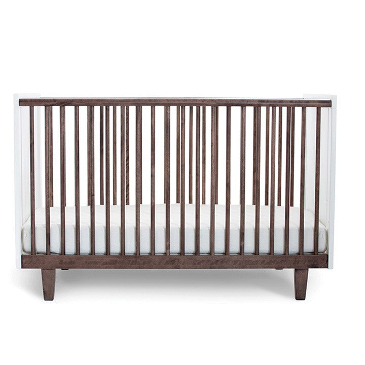 Oeuf Rhea Crib - Walnut Cribs | kids at home