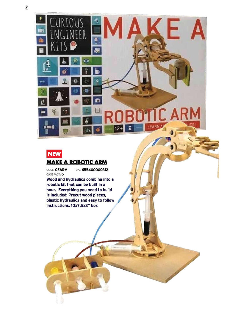 Copernicus Toys & Gifts - Make a Robotic Arm | kids at home