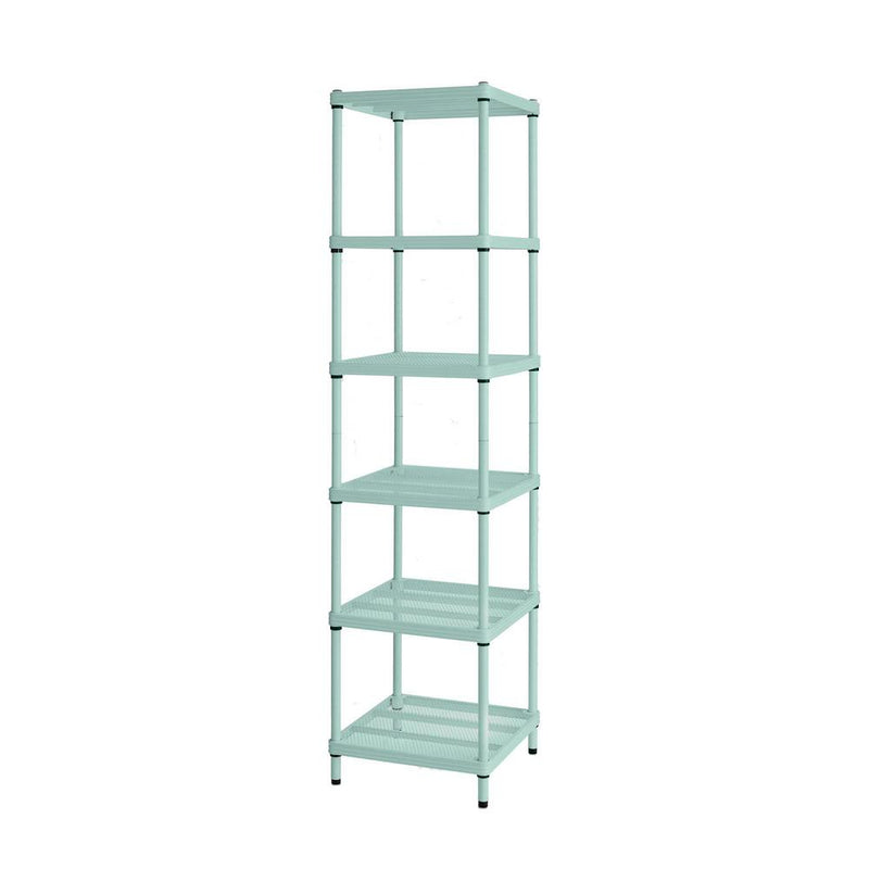 Design Ideas MeshWorks Shelving Unit - Sage Green | kids at home