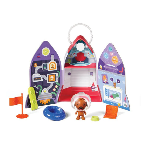 Sago Mini Portable Playset - Harvey's Spaceship