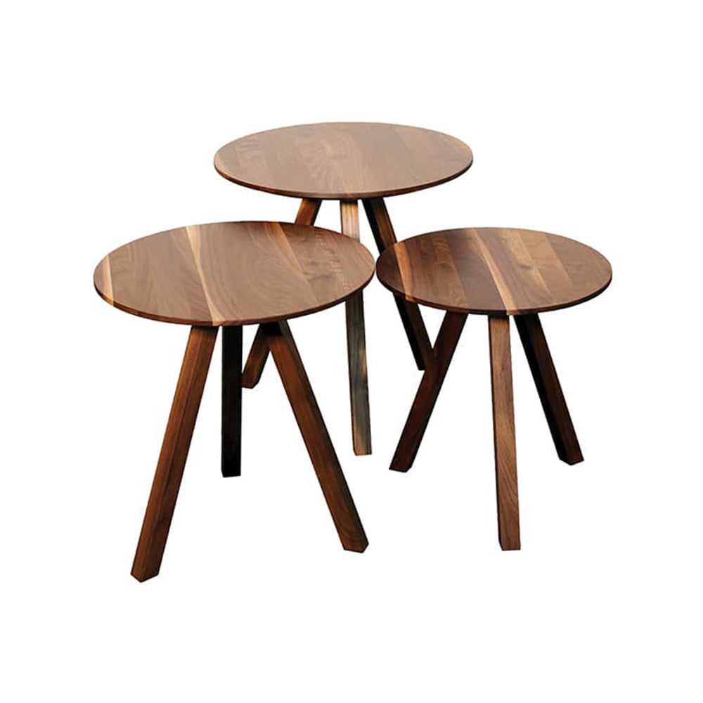 Verbois | STAR Nesting Table - Walnut