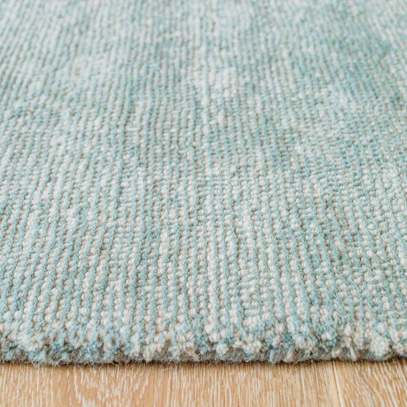Pehr Solid Stripe Rug - Sea | kids at home