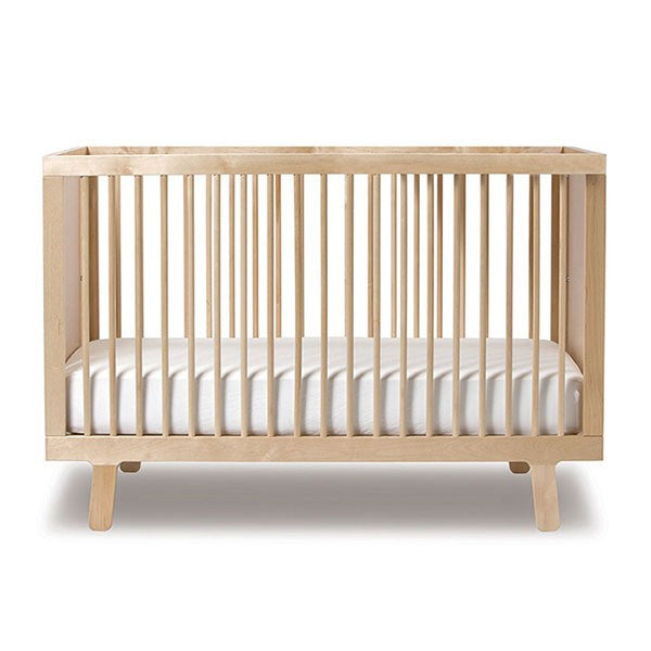 Oeuf Sparrow Crib - Birch Cribs | kids at home
