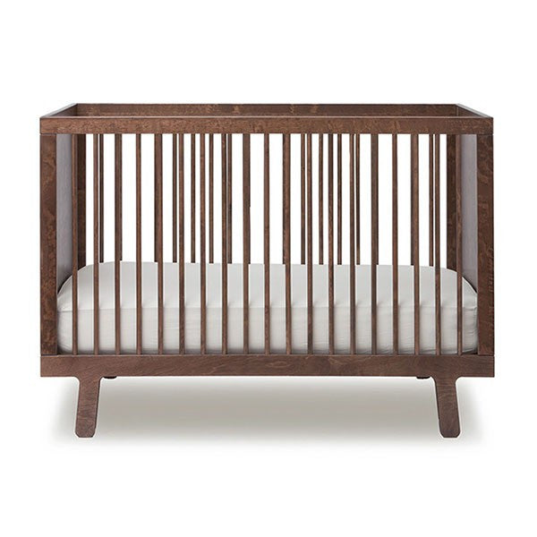 Oeuf Sparrow Crib - Walnut Cribs | kids at home