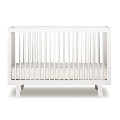 Oeuf Sparrow Crib - White Cribs | kids at home