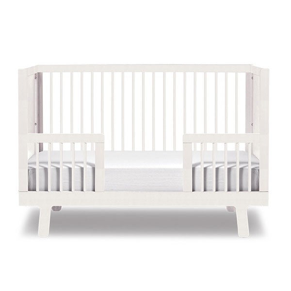 Oeuf Sparrow Toddler Bed Conversion Kit - White Cribs | kids at home