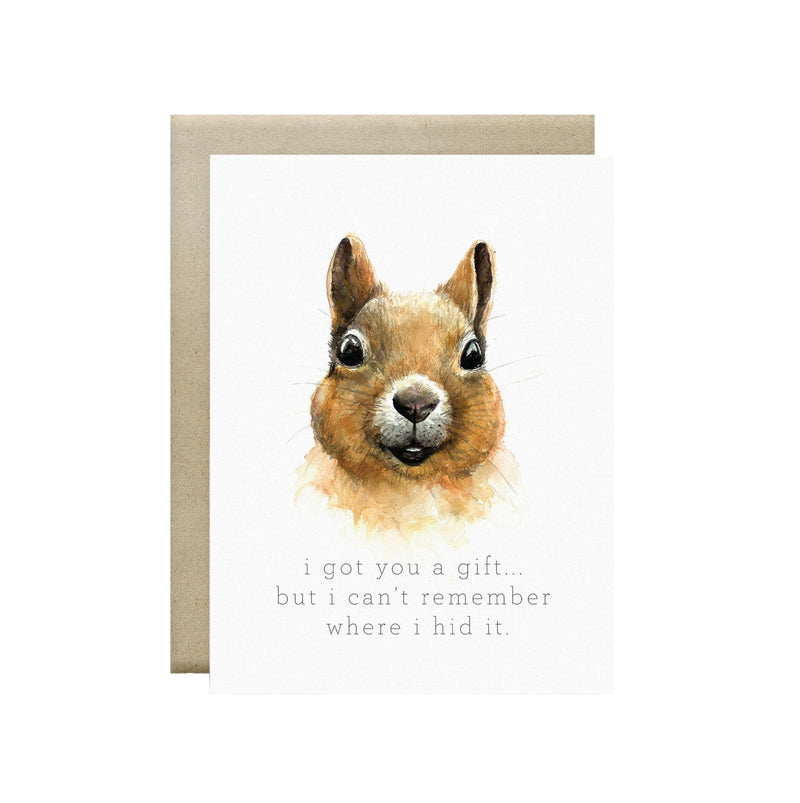 Wild Canary Studio - Greeting Cards Squirrel | kids at home