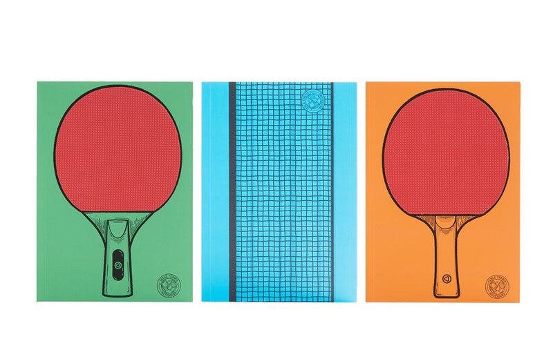 SUCK UK Table Tennis Notebooks Notebook | kids at home