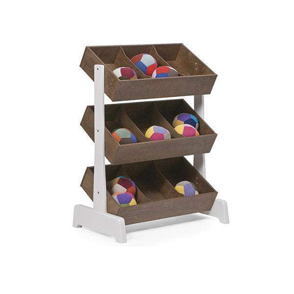 Oeuf Toy Store - Walnut Shelving | kids at home