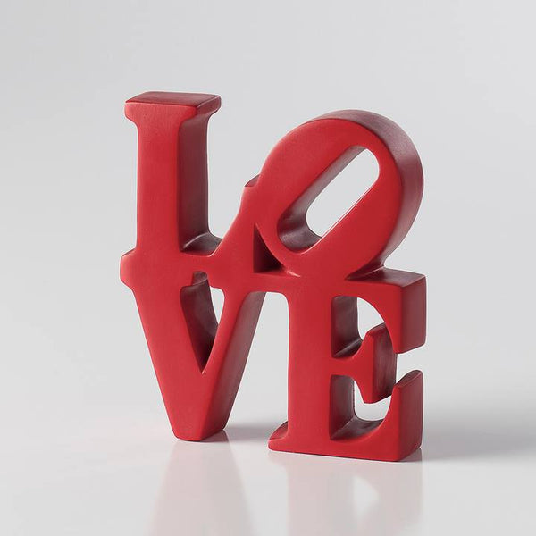 Love - Word Art- Red