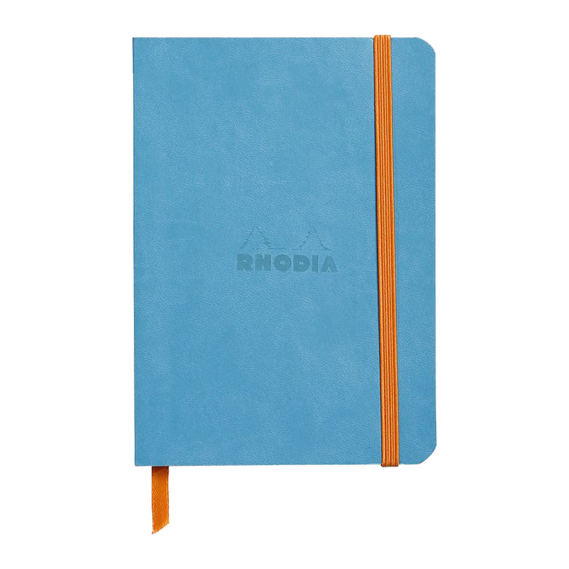 RHODIA Softcover Notebook A6 - Turquoise | kids at home