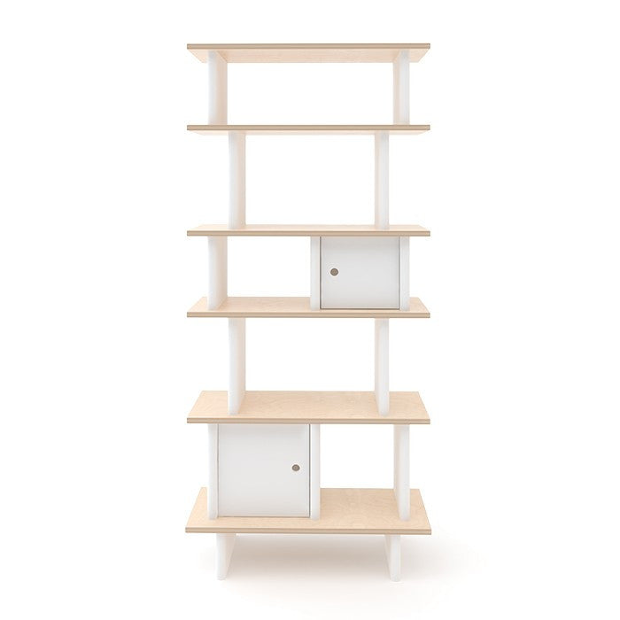 Oeuf Vertical Mini Library - Birch Shelving | kids at home
