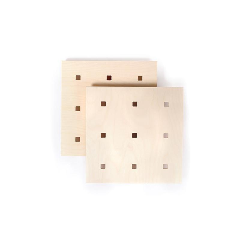 Gautier Studio Winny Mini Pegboards - Natural (Set of 2) Shelving | kids at home