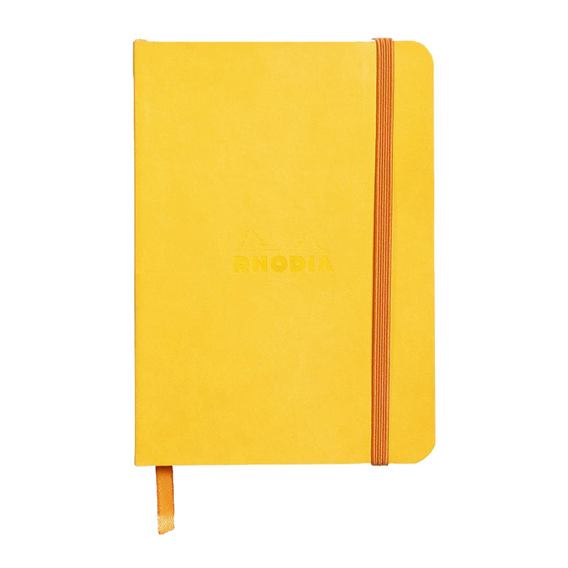 RHODIA Softcover Notebook A6 - Daffodil Yellow | kids at home