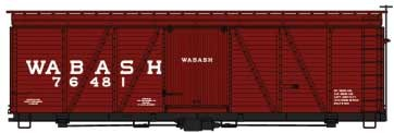 Accurail HO Fowler 36' Wood Boxcar